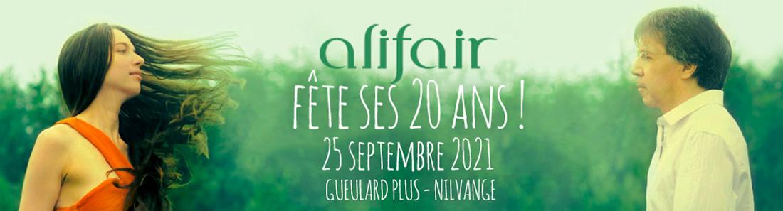 Alifair fête ses 20 ans